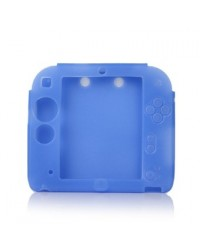 Capa Silicone Nintendo 2DS Azul