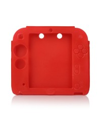 Capa Silicone Nintendo 2DS Red