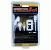 Auscultadores PSP Slim (branco)