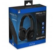 Auscultadores Gaming PRO4-70 4Gamers para Ps4 - Preto