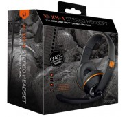 Auscultadores XH-4 Gioteck Wired Stereo Headset Camo