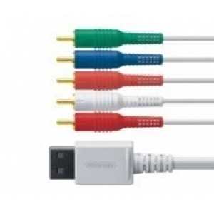 Cabo Componentes- AV p/ Wii/ Wii U