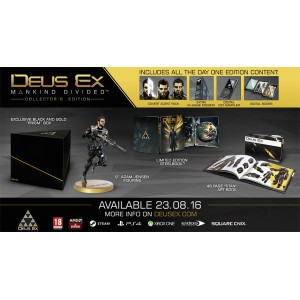 Deus Ex: Mankind Divided Collector's Edition PS4