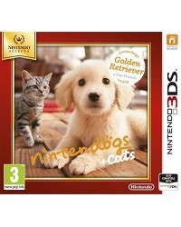 Nintendogs + Cats: Golden Retriever 3DS