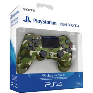 Sony Comando DualShock 4 V2 Green Camo PS4
