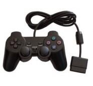 Comando DualShock 2 Preto Compativel