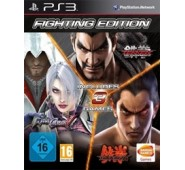 Tekken 6 + Tekken Tag Tournament 2 + Soulcalibur V Compilation PS3