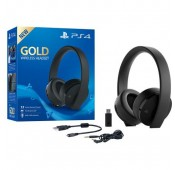 Headset Wireless Gold Sony PS4