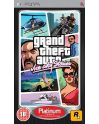GTA-Grand Theft Auto: Vice City Stories PSP Platinun