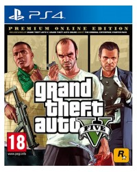 Grand Theft Auto V (Edição Premium Online)