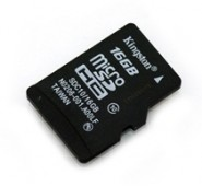 Micro SDHC 16GB Kingston (Classe 10)