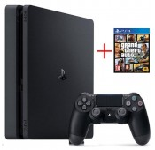 Consola Sony PS4 Slim 500GB + GTA V