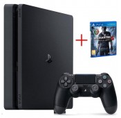 Consola Sony PS4 Slim 500GB + Uncharted 4