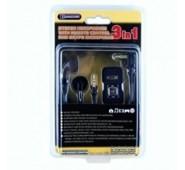 Auscultadores PSP Slim (Preto)