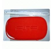 Bolsa + Pulseira (Vermelha) para PSP