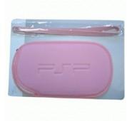 Bolsa + Pulseira (Rosa) para PSP