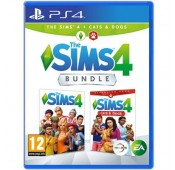 The Sims 4 Plus Cats & Dogs Bundle PS4
