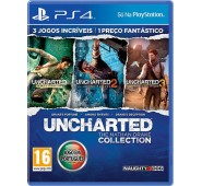 Uncharted: The Nathan Drake Collection(Português) PS4