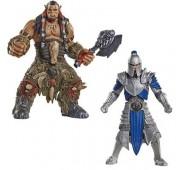 Warcraft - Pack 2 Minifiguras: Alliance Solider & Durotan