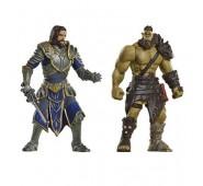 Warcraft - Pack 2 Minifiguras: Lothar & Horde Warrior