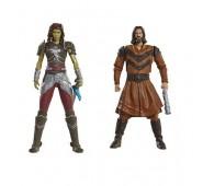 Warcraft - Pack 2 Minifiguras: Garona & Lothar Civilian